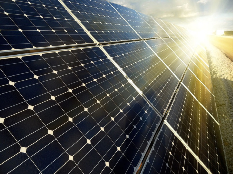 Imagen de una planta fotovoltaica.