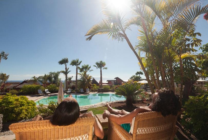 Establecimiento turístico del sur de Tenerife.