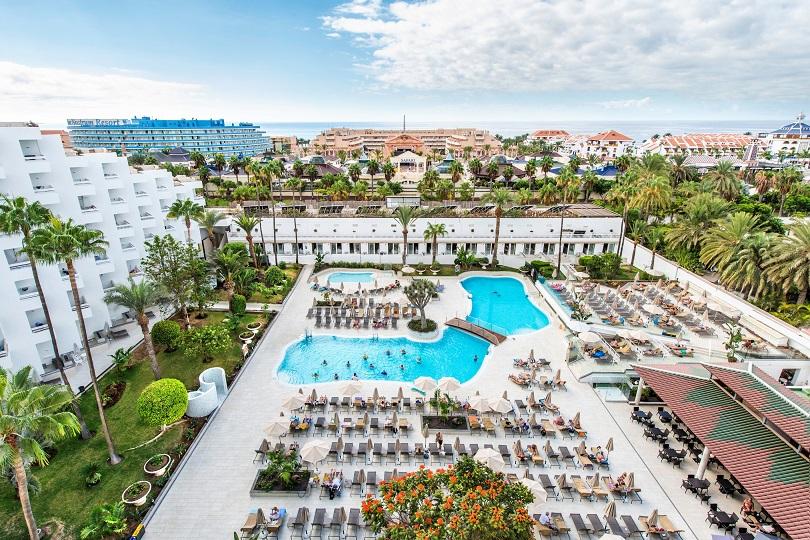 Imagen de un establecimiento hotelero de Tenerife.